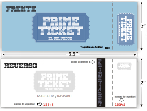 TICKET THERMO PRIME